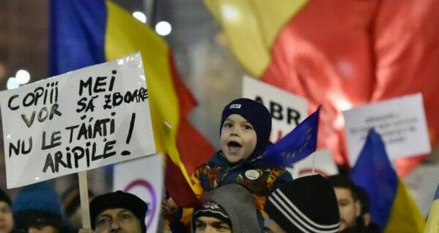 romania proteste manipulate
